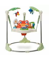 Fisher-price Rainforest™ Jumperoo™ - Used(Looks New)