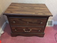 TWO 2-drawer antique nightstands New York, 11355