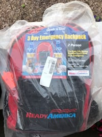 Emergency backpacks