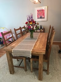 Dining table + 6 chairs Bethesda, 20816
