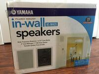 Yamaha Flush Mount In-Wall Speakers Barrie, L4N 8L8