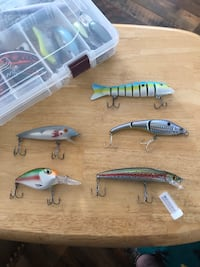 Bass fishing baits and lures