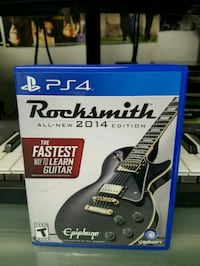 Sony PS4 Rocksmith all-new 2014 edition case