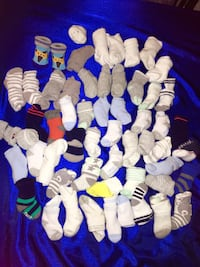 $10 55 pairs of Sox NEWBORN can't fit up to 2 months each six sold 50 cents Montgomery Village, 20886