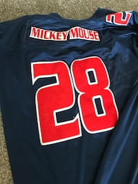 Mickey mouse football jersey XXL