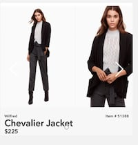 Wilfred chevalier jacket size 0 Windsor, N9B 3Y3