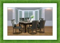 5pc dining table set with 4 chairs free delivery Alexandria, 22305