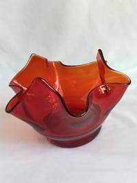Murano Folded Glass Bowl Calgary, T2E 1R2