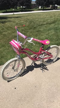 toddler's pink and white bicycle Hobart, 46410
