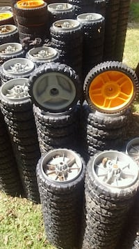 Lawn mower tires and wheels (free) Chauncey, 31011