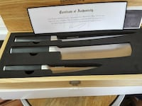 "Kamikoto"" steel knife set Burtonsville, 20866"