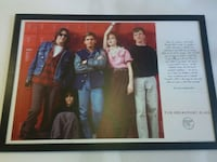 Vintage Breakfast Club raised art print West Columbia, 29169