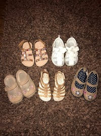 Toddler Girl Shoes Size 5c  Las Vegas, 89123