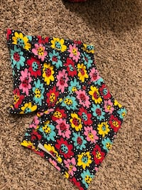 blue, yellow, and pink floral shorts Eugene, 97401