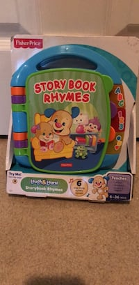 Fisher Price educational story book  Centreville, 20121