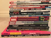 Various Marvel, DC and Indie Graphic Novels Brampton, L6V 4N8