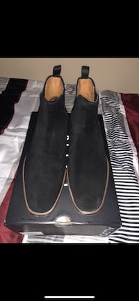 Pair of black suede aldo boots Tacoma, 98408