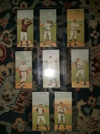 MECCA BASEBALL FOLDER SERIES CARD LOT OF 8 RP88. CHASE FORD COLLINS Providence, 02906