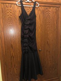 black spaghetti strap maxi dress Vaughan, L6A 3G7