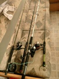 Fishing rods and reels and tackle bag Maugansville, 21767