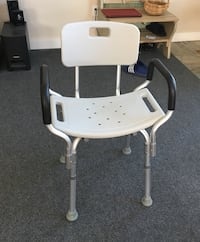 white and gray high chair Creswell, 97426
