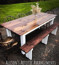 Handmade farm tables kitchen tables dining tables