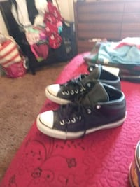 Old school leather converse all star 71/ mens in e Oceano, 93445