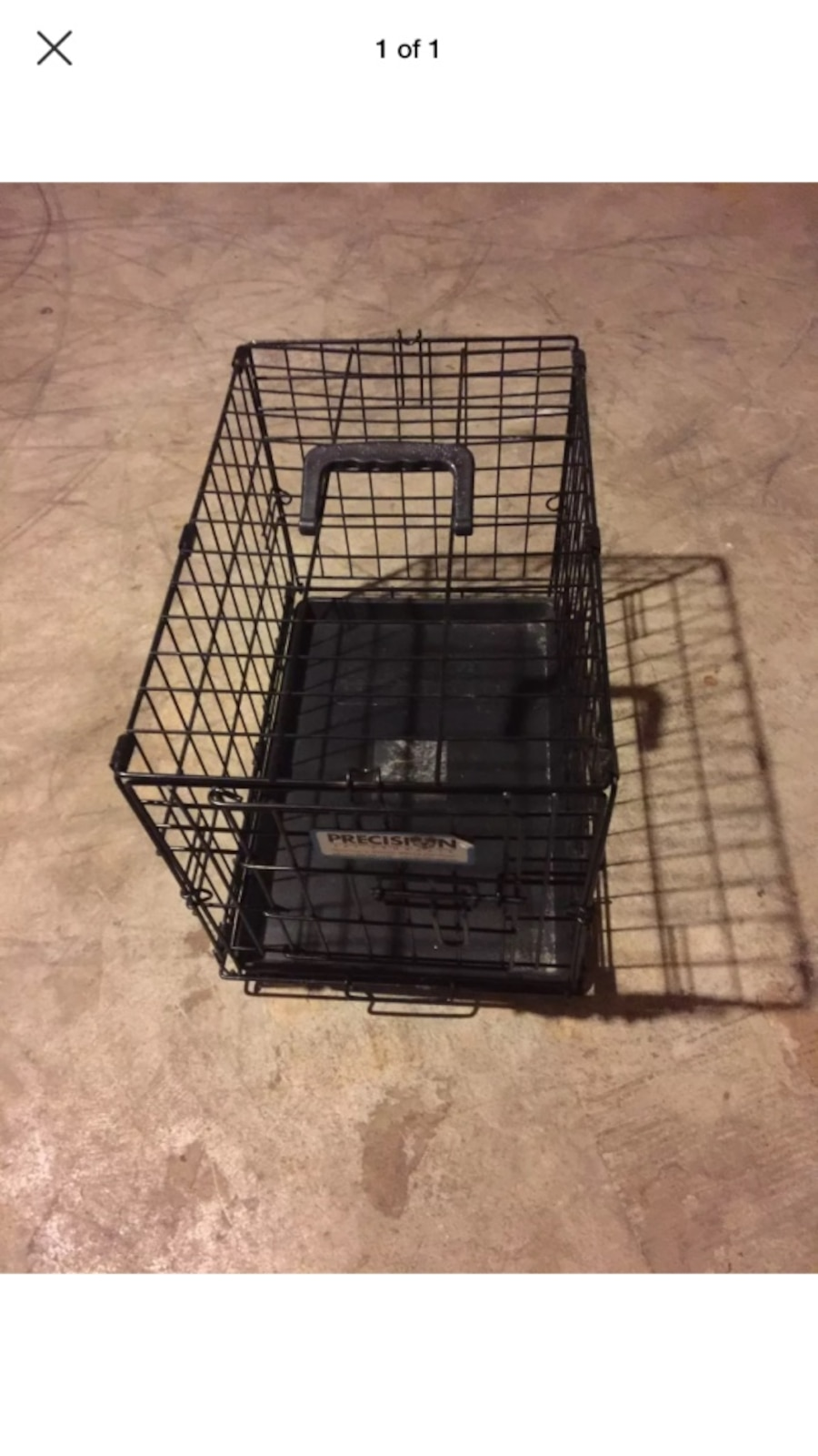 letgo  extra small dog crate in butler wi - extra small dog crate