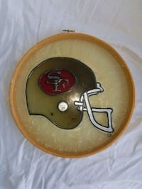 49ers Stained Glass helmet collectible Las Vegas, 89107