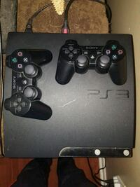 Ps3 with 2 controllers and 5 games  Hamilton, L8G 1A1