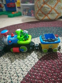 Leap frog toy train!