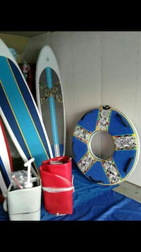 Inflatable serfboards