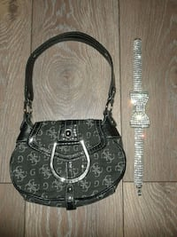 Guess purse and Necklace Set