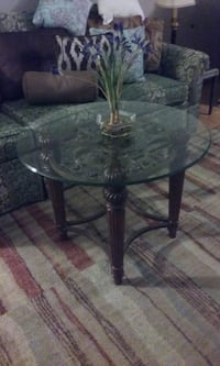 Glass top side/end/coffee table Fort Myers, 33908