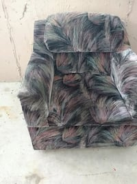 black and gray fabric sofa chair Surrey, V3S 8Z3