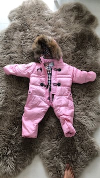 toddler's pink and purple pram suit Laval, H7W 5H3