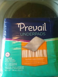 Prevail Underpads plastic pack Houston, 77057