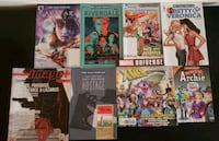 8 assorted comics/issues  Stone Mountain, 30083
