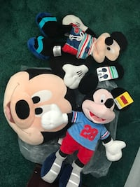 Mickey Mouse and Minnie Mouse plush toys Watsonville, 95076