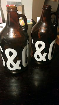 Steel and oak growlers New Westminster