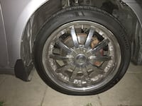 Selling my 18 inch rims tires are normal wear