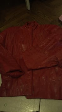 Size small red ladders Danier jacket. Vaughan, L4J 5M3