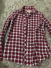 Red flannel, size SM Port Coquitlam, V3B 1C7