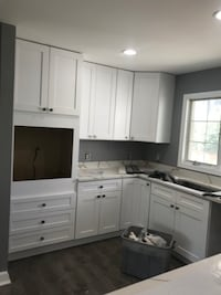 Kitchen and bathrooms remodeling doors installation  Sterling