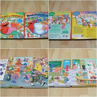 """Elmo First Look and Find Book Set (large 12"""" x 10"""" size books) Surrey"""