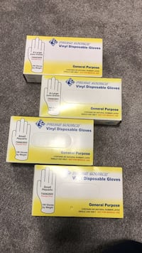 4 brand new boxes of gloves each box has 100 each. Innisfil, L0L 1W0