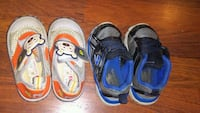 toddler's two pairs of shoes size 6 Honolulu, 96817