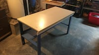 Utility table-height adjustable Milford, 12116