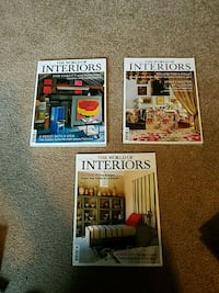 """Sixteen issues of """"The World of Interiors"""" mags West Hollywood, 90046"""