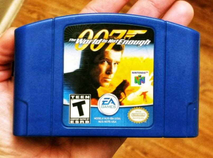 Used 007 The World Is Not Enough N64 For Sale In Dallas Letgo